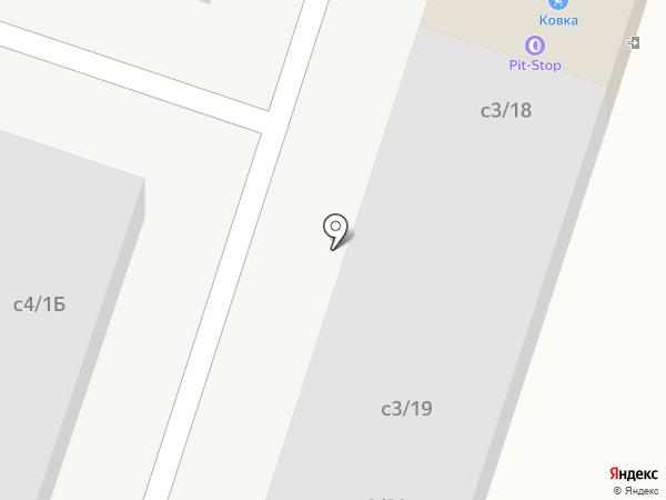 Pit-stop на карте Миасса