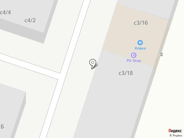 Автостекло на карте Миасса