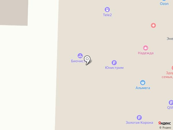Медицинский кабинет на карте Миасса