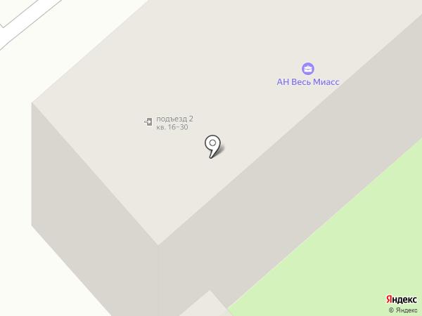 Весь Миасс на карте Миасса