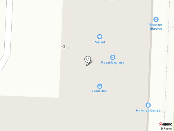 Дом Игрушек на карте Миасса