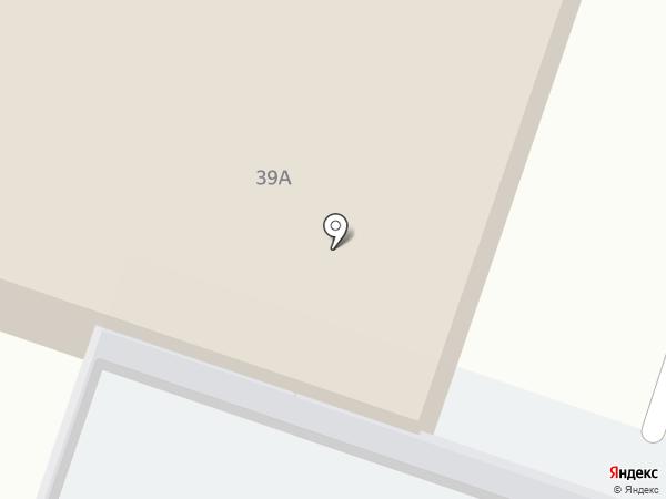 Акварела на карте Миасса