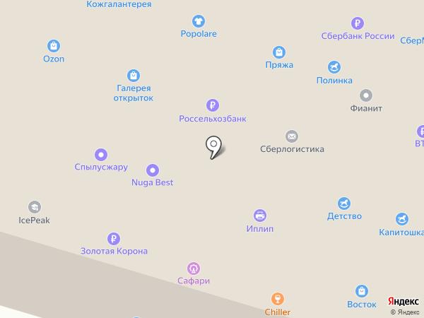 Popolare на карте Миасса