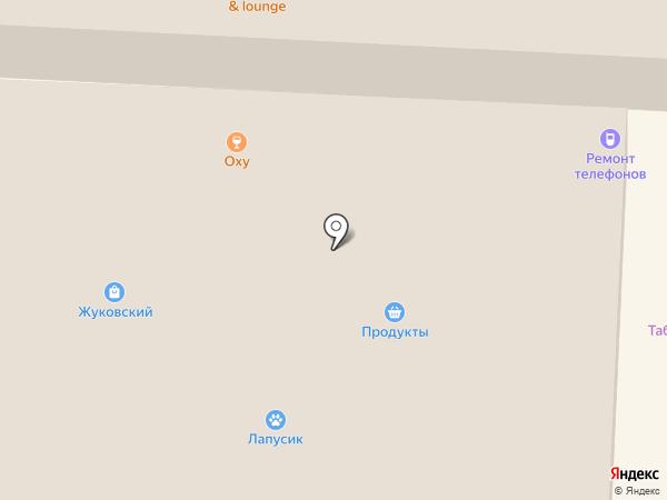 Альмега на карте Миасса