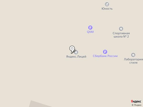 Отдел по управлению северным территориальным округом на карте Миасса