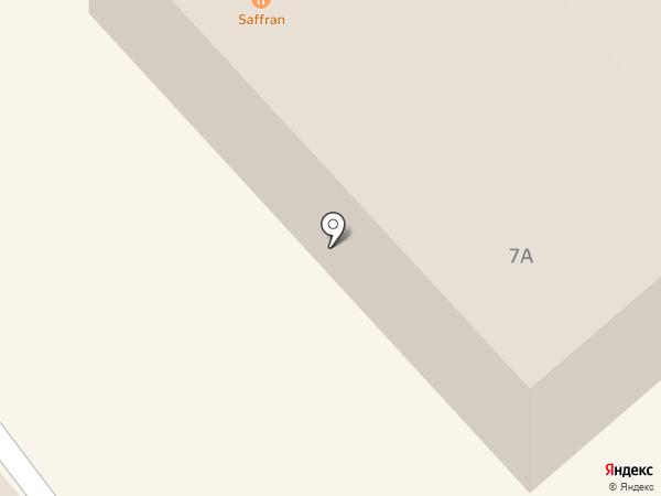 Саффран на карте Миасса