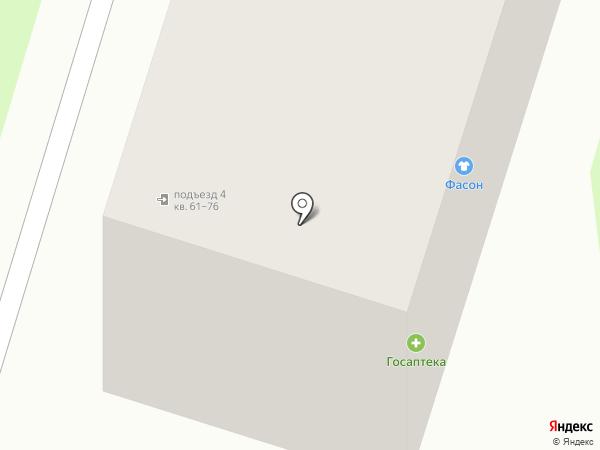 Фасон на карте Миасса