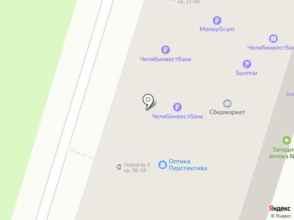 ВИЛЛАР на карте Миасса