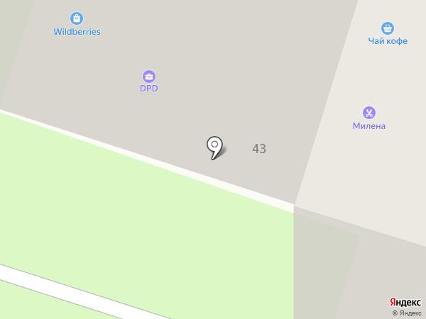 Магазин бакалеи на карте Миасса