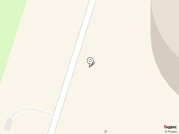 Звёздный на карте Миасса