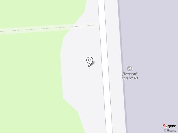 Детский сад №49 на карте Миасса