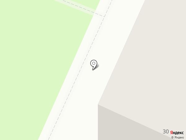 Юбилейный на карте Миасса