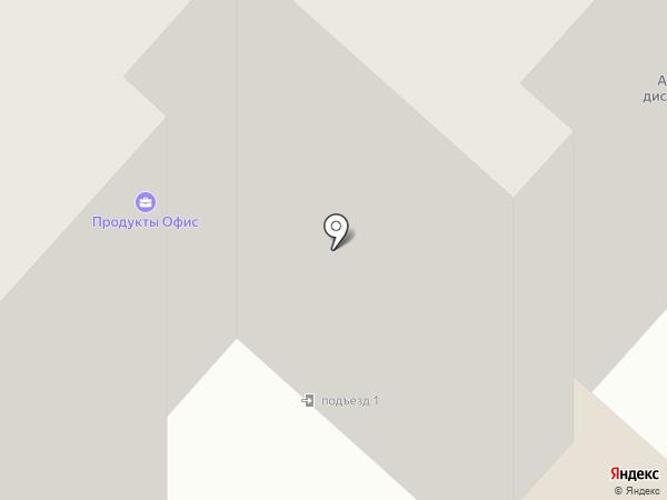 Промснаб 74 на карте Миасса