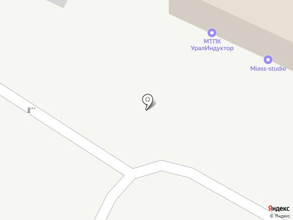Miass-studio на карте Миасса