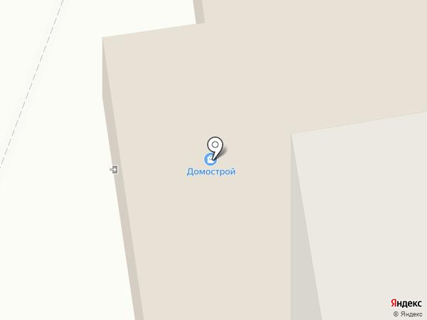 Домострой на карте Миасса