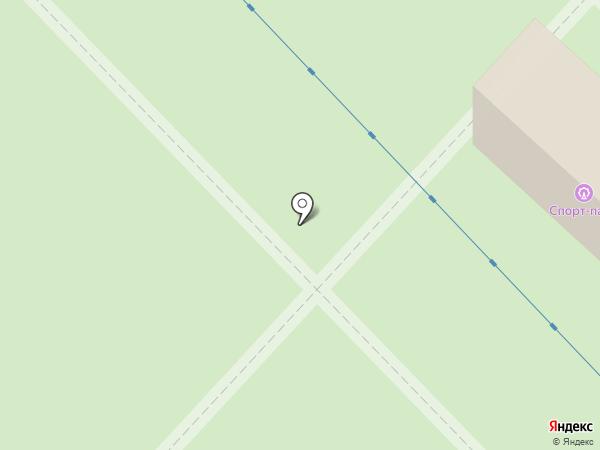 Спорт-Парк на карте Миасса