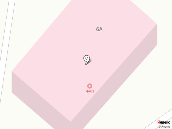 Фельдшерско-акушерский пункт на карте Курганово
