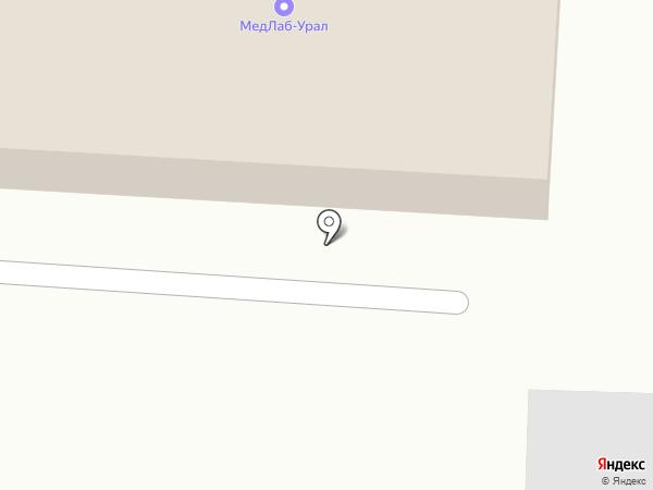 МедЛабУрал на карте Среднеуральска