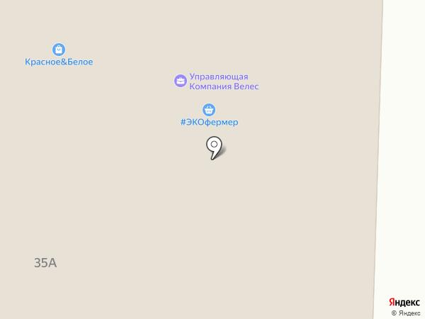 Магазин разливного пива на карте Среднеуральска