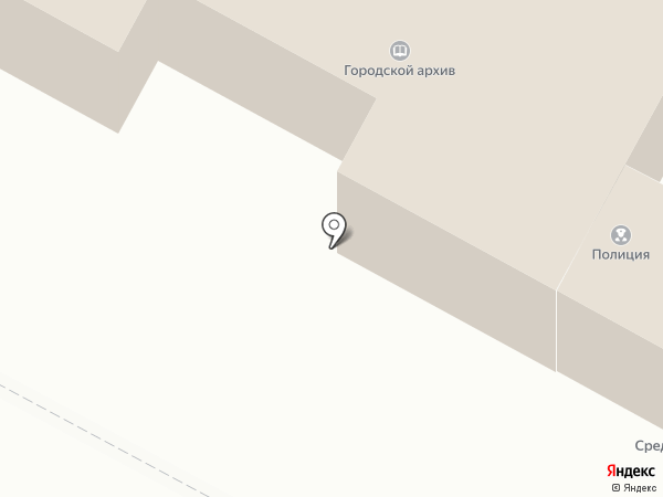 Отдел полиции на карте Среднеуральска