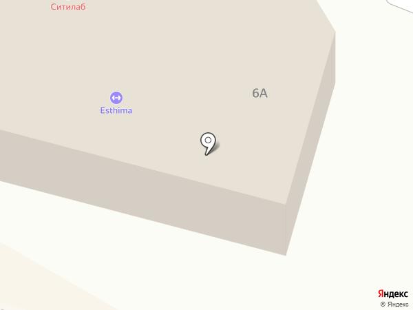 Esthima на карте Среднеуральска