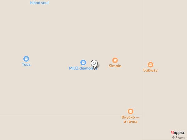 Simple Coffee на карте Екатеринбурга