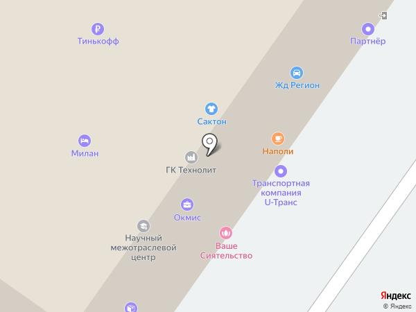 Site-Corp на карте Екатеринбурга
