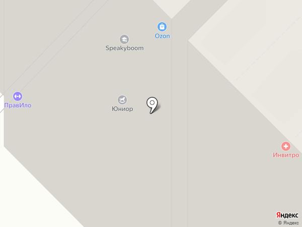 Академический на карте Екатеринбурга