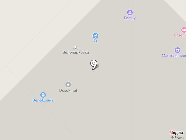 Доктор Ост на карте Екатеринбурга