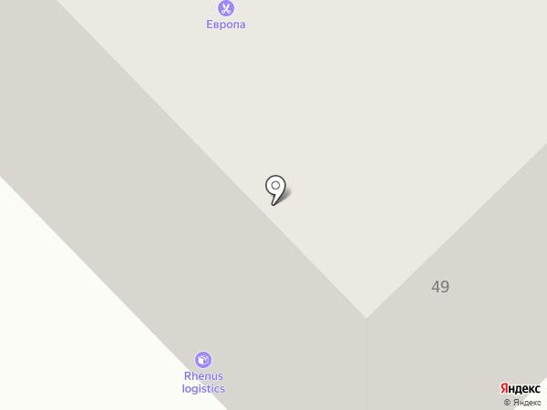 Дорожник на карте Екатеринбурга