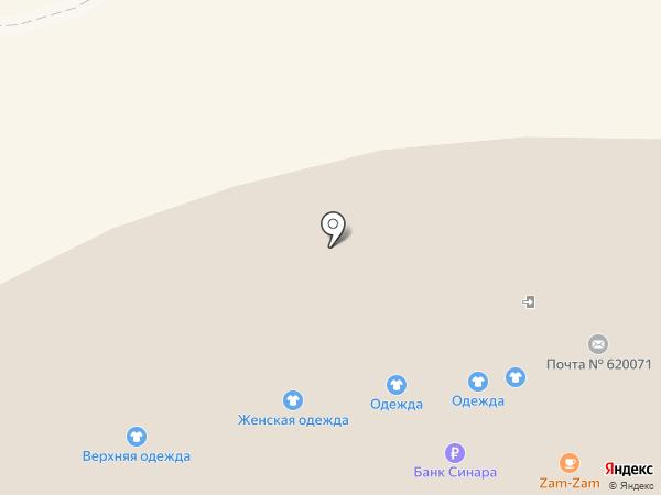 Компания по ремонту мобильных телефонов на карте Екатеринбурга