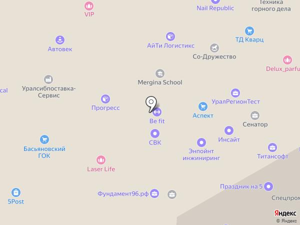 АВ ПРОМ на карте Екатеринбурга