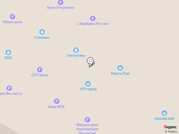 Фокус на карте Верхней Пышмы