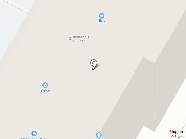 Татто Энд Трак на карте Верхней Пышмы