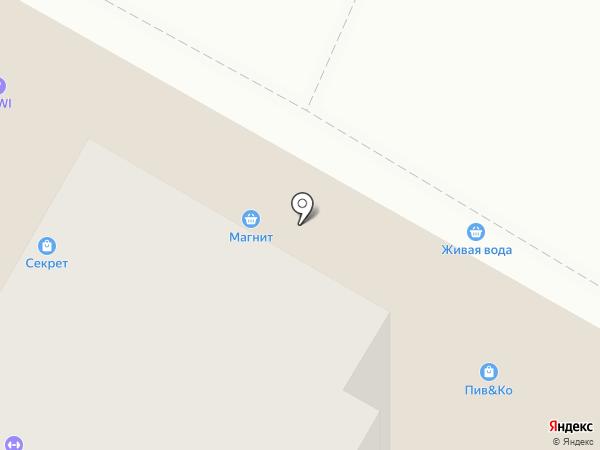 Лада на карте Верхней Пышмы