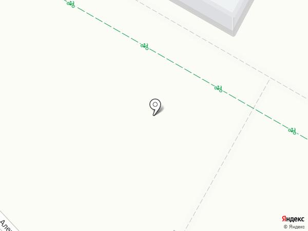 Автостоянка на карте Верхней Пышмы
