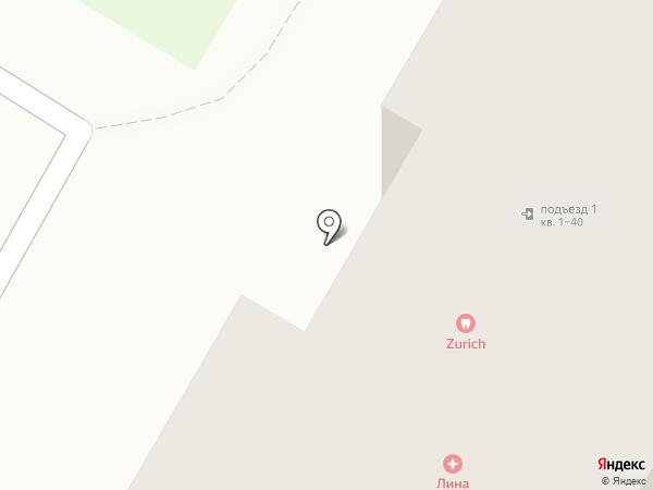 Цюрих на карте Верхней Пышмы