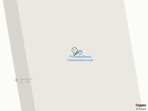 ЛУЧ на карте Верхней Пышмы