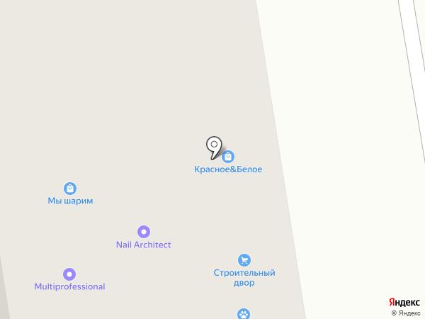 Розалко на карте Верхней Пышмы