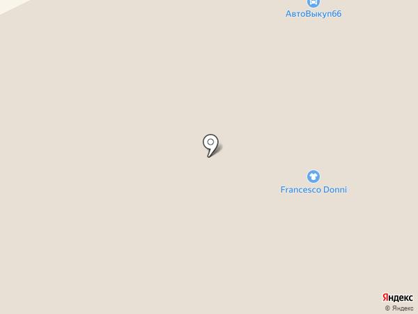 Антошка на карте Екатеринбурга
