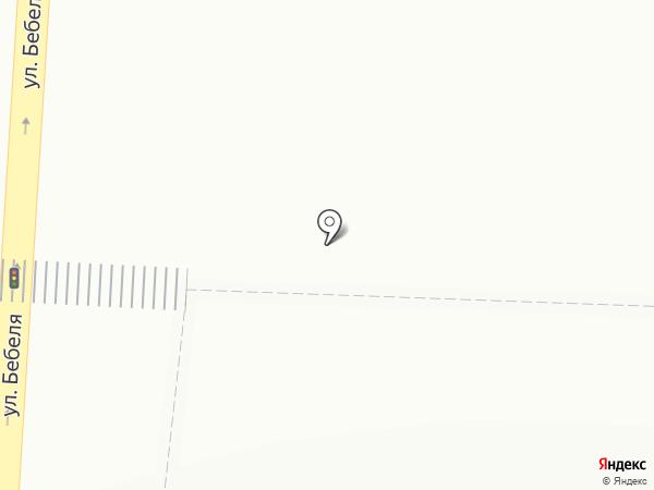 Магазин по продаже фастфудной продукции на карте Екатеринбурга
