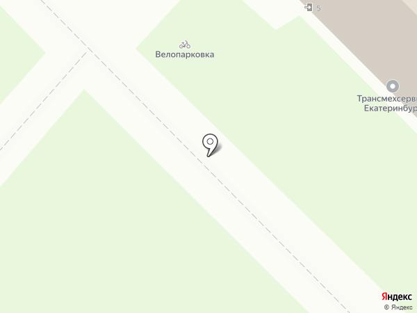 УЗВЛ на карте Екатеринбурга