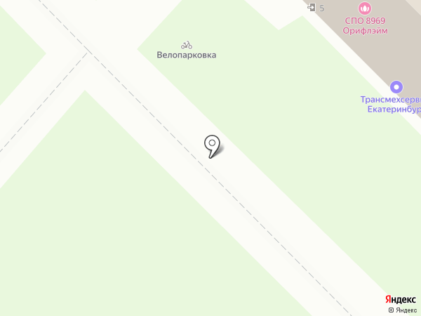ТрансМехСервис на карте Екатеринбурга