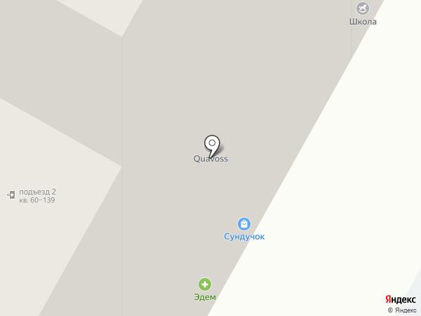 Успенский на карте Верхней Пышмы