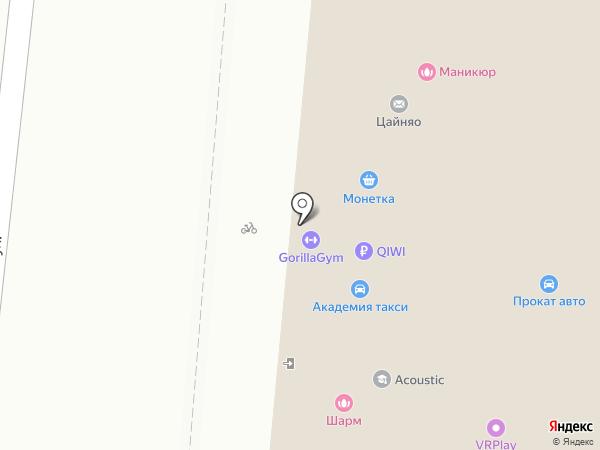Кругозорро на карте Екатеринбурга