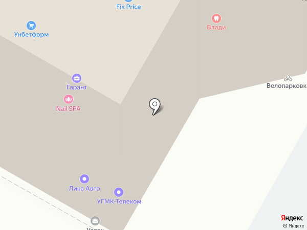 СтройСнабСевер на карте Верхней Пышмы
