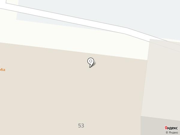 Pizza Mia на карте Екатеринбурга