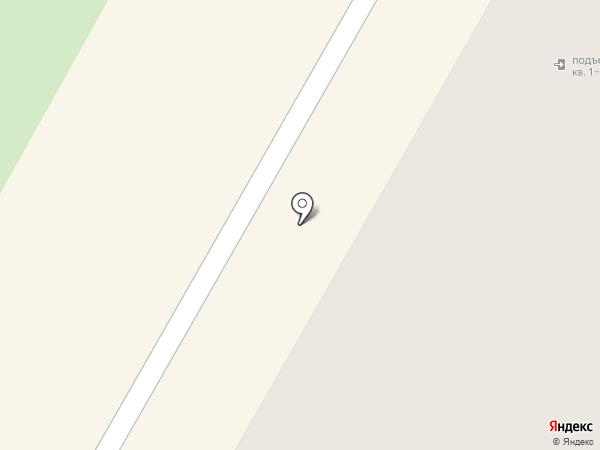 Гарант на карте Верхней Пышмы