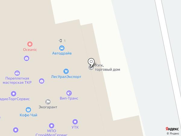Ruproekt.com на карте Екатеринбурга