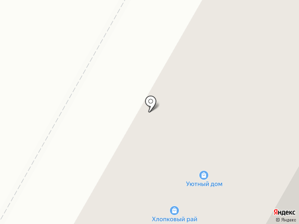 Булочная №42 на карте Верхней Пышмы